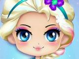 Холодное сердце ИГРА Современный макияж Чиби Эльзы! ИГРЫ ОНЛАЙН! Мультфильм!