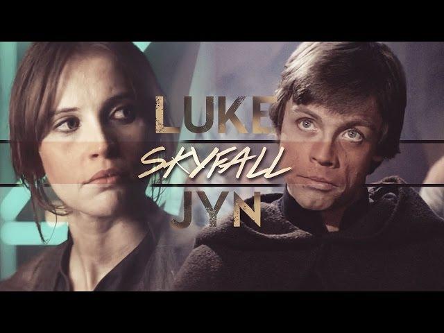 Luke skywalker ✗ jyn erso [alt. mara jade] ϟ SKYFALL