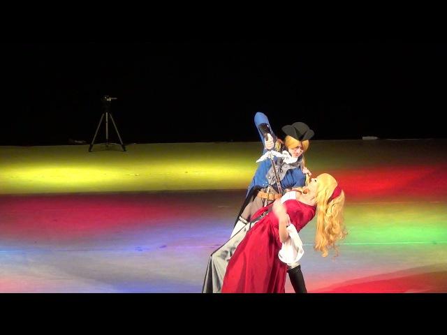 M.O.con 2016: Косплееры Крис, Ellariel (Chevalier Deon)