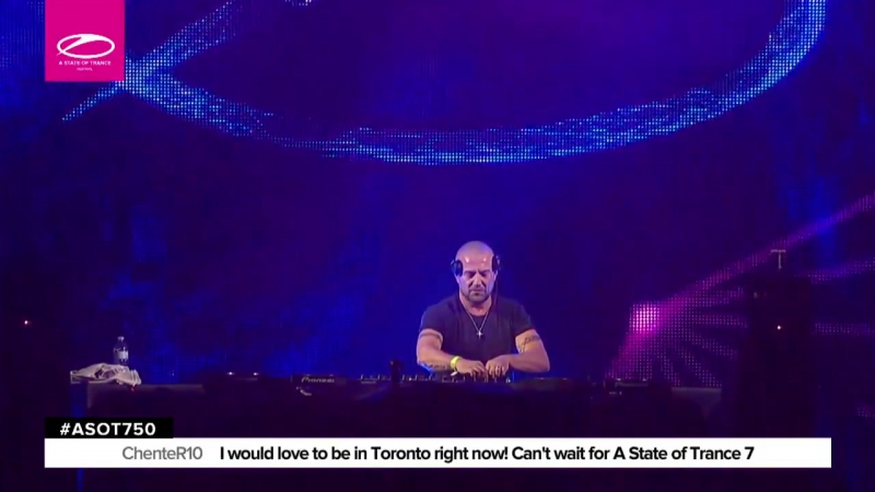 Standerwick Live @ ASOT 750 (Toronto,Сanada)