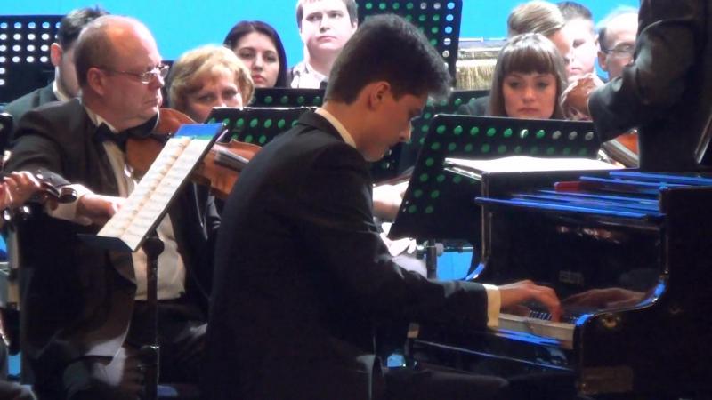 Ильдар Саубанов. Э. Григ. Концерт для фортепиано с оркестром a-moll