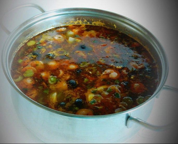 Суп солянка рецепт с фото пошагово