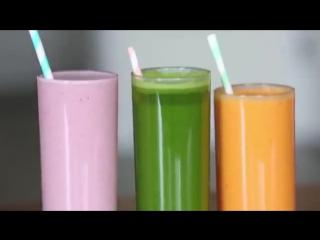 Смузи из трех ингредиентов