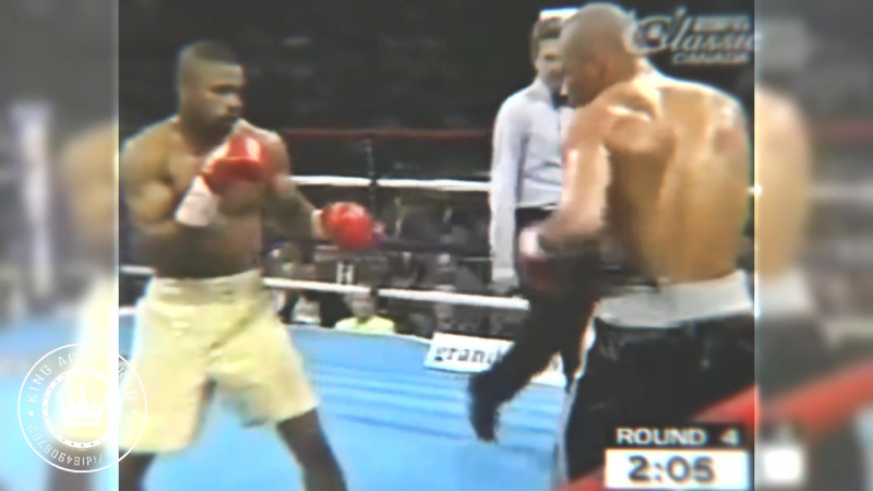 Roy Jones Jr KO 4 Virgil Hill