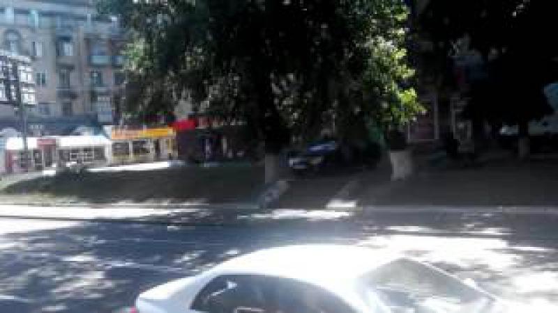 Наступна зупинка Московській проспект Киев 12 трамвай