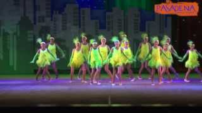 Pasadena dance school - Чарльстон