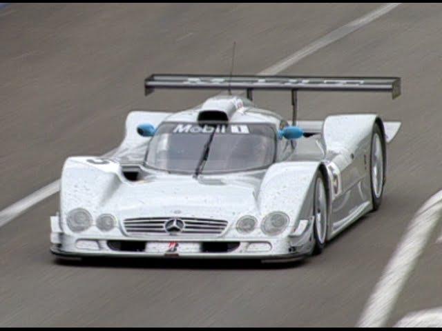 Le Mans 1999 - Peter Dumbreck's Mercedes CLR-GT1