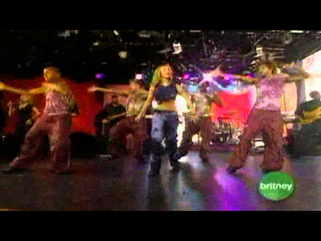 Oops I did it again (MTV Britney Live 2000) LIVE VOCALS