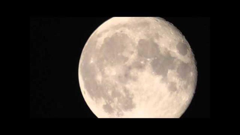 Panasonic HC-V270 луна ночь