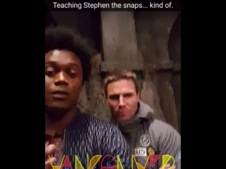"""@echokells on Instagram: """"It's my goal to get the whole cast snapping. """""""