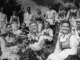 Белорусские народные песни и танцы  Byelorussian Folk Songs and Dancing  Советская музыка 1948