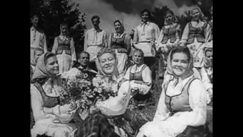 Белорусские народные песни и танцы / Byelorussian Folk Songs and Dancing / Советская музыка 1948