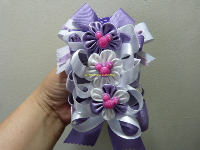 Como Hacer Moños para Balacas, How to Make Ribbon Ties and Flowers