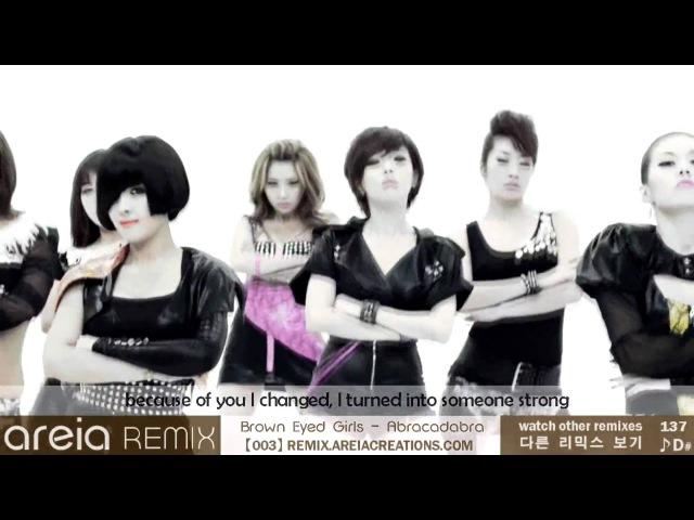 Brown Eyed Girls - Abracadabra   Areia Remix 3