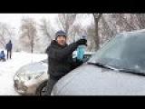 Как почистить стекло автомобиля. Фрагмент программы
