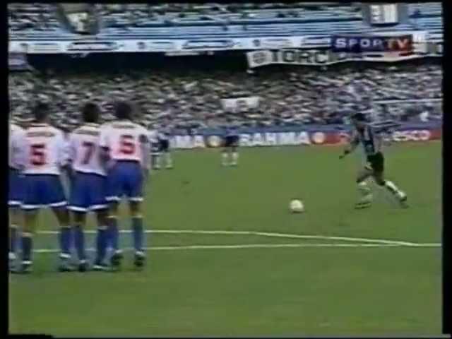 Grêmio 4x0 Nacional URU - Copa Libertadores 1998