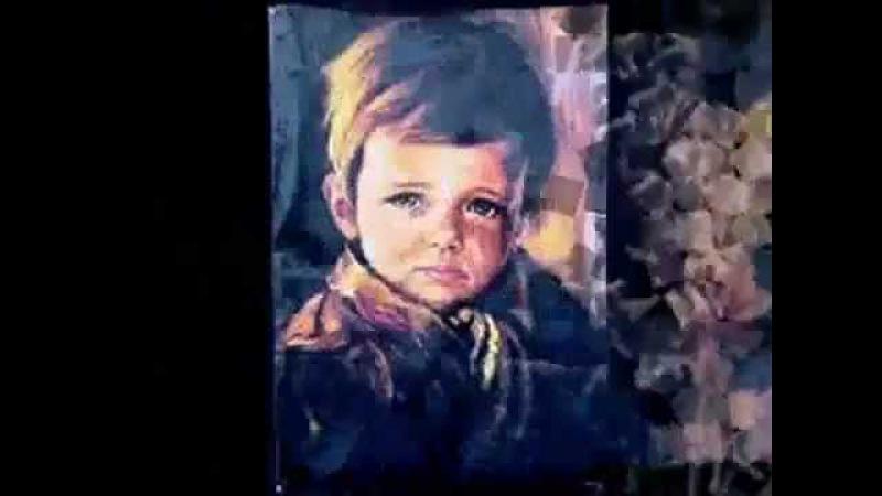 A lenda dos quadros das crianças que choram