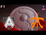 Alliance vs Fnatic #1 | The International 6 Group Play Off Day 5 Dota 2
