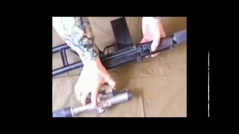Оружие России Снайперская винтовка ВСК 94)