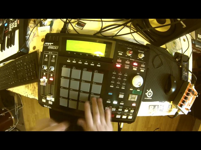 Ena-N - People say - LIVE MPC 2500