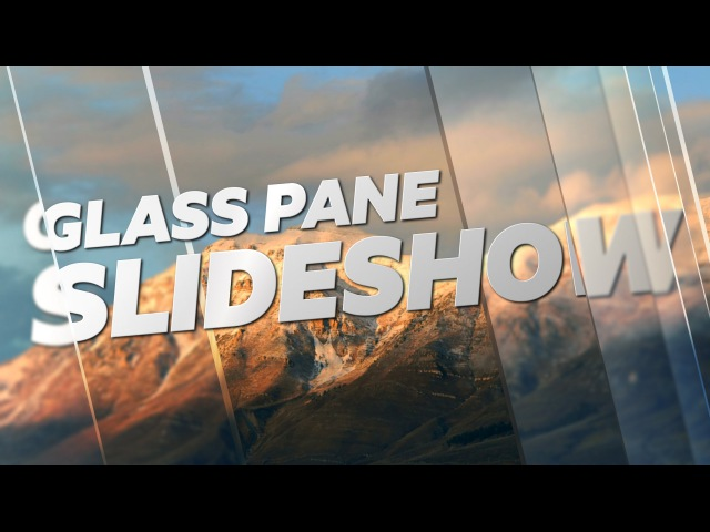 Glass Pane Slide Show - Adobe After Effects tutorial (Sponsored By Videoblocks)