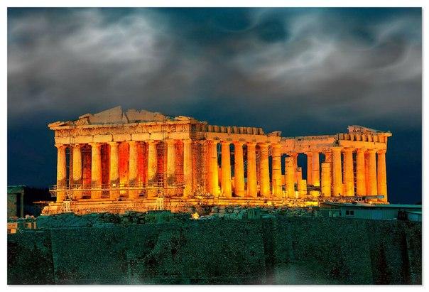 Храм Парфенон в Афинах — величайшее культовое сооружение