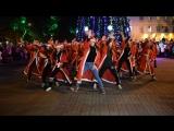 Молодежь Геленджика. Новогодний флэшмоб (АРТмоб) Дедов Морозов и Снегурочек.