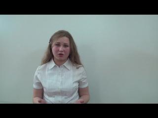 Коршунова Татьяна читает стихотворение Острового