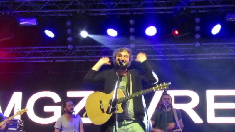 Мгзавреби - Mgeli Chven Ras Dagvaklebs (отрывок 2), 16.04, Екатеринбург, Tele-Club