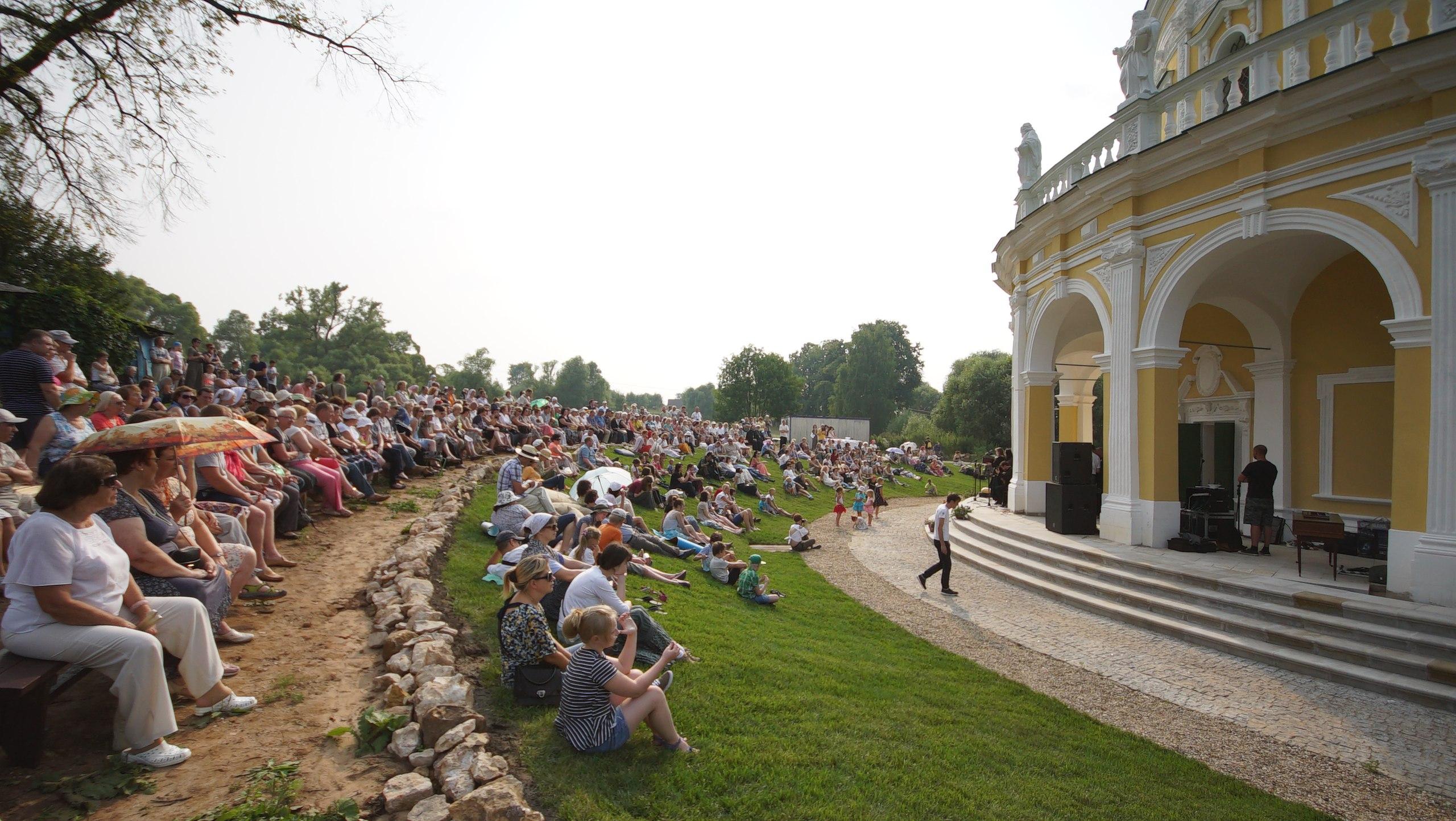Фестиваль барочной музыки в Подмоклово 2016