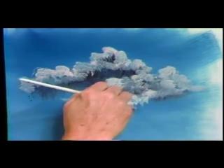 Боб Росс - Учимся рисовать небо.(с переводом на русский)