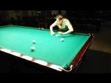 Как жонглеры играют в бильярд )))
