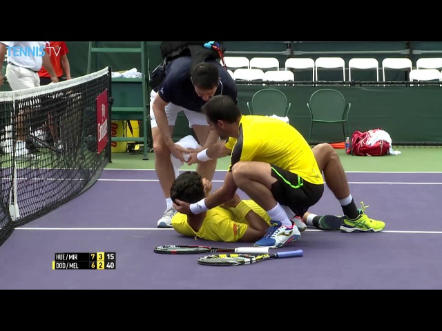 Doubles Friendly Fire Miami 2016 Dodig Drills Melo