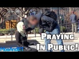 Praying In Public With A Hijab! SOCIAL EXPERIMENT
