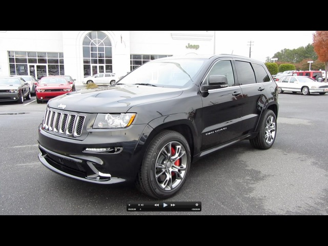 2012 Jeep Grand Cherokee SRT-8 Start Up, Exhaust, and In Depth Tour