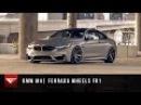 2015 BMW M4 Ferrada Wheels FR1 Staggered Rims Bagged Air Ride Suspension