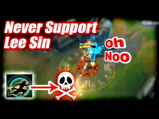 Funny/Fails Compilation #13 - Never Support Lee Sin | League of Legends