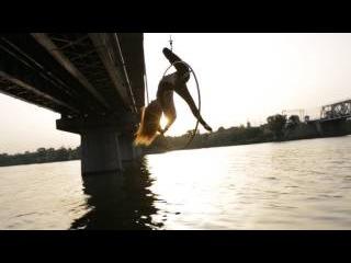 Воздушная гимнастка Катя Соколова! Артистка цирка!