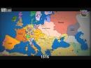 Как менялись границы государств за последнее тысячелетие