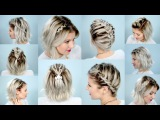 10 EASY BRAIDS FOR SHORT HAIR   Milabu