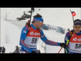 VM Oslo 2016: Anton Shipulin & Quentin Fillon Maillet episode in individual race