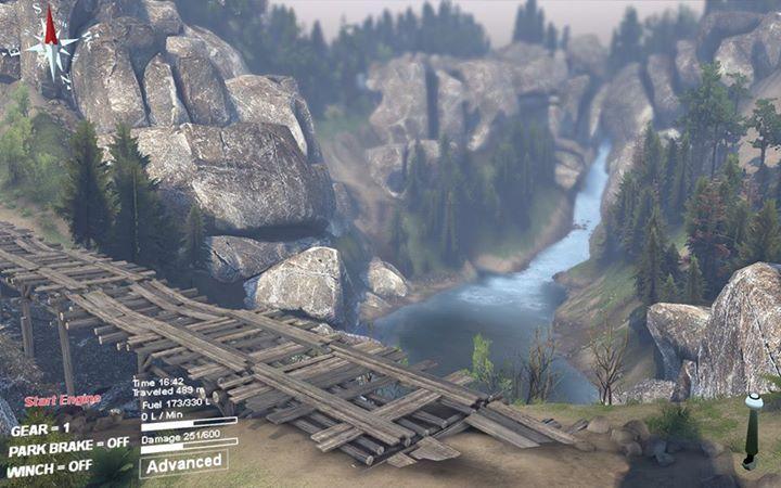 "Карта ""Яма"" для 25.12.15 для Spintires - Скриншот 3"