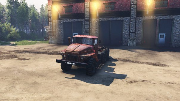 Урал-375 для SpinTires v.03.03.16