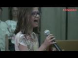 Beyonce - Listen (cover),маленькая девочка перепела кавер на песню Beyonce,красиво спела,классно поёт,волшебный голос,вокал
