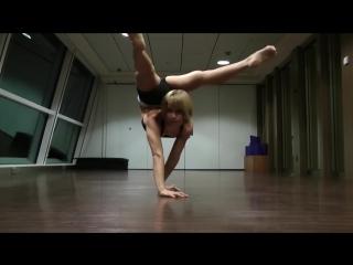 Haley viloria: contortion. technical demo