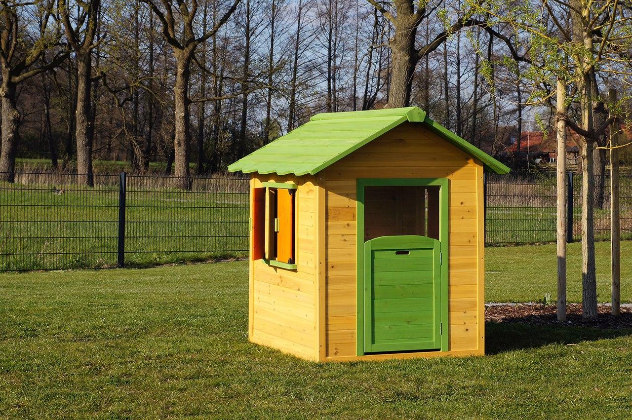 Casa de jard n casita infantil de madera caseta de for Casa infantil jardin