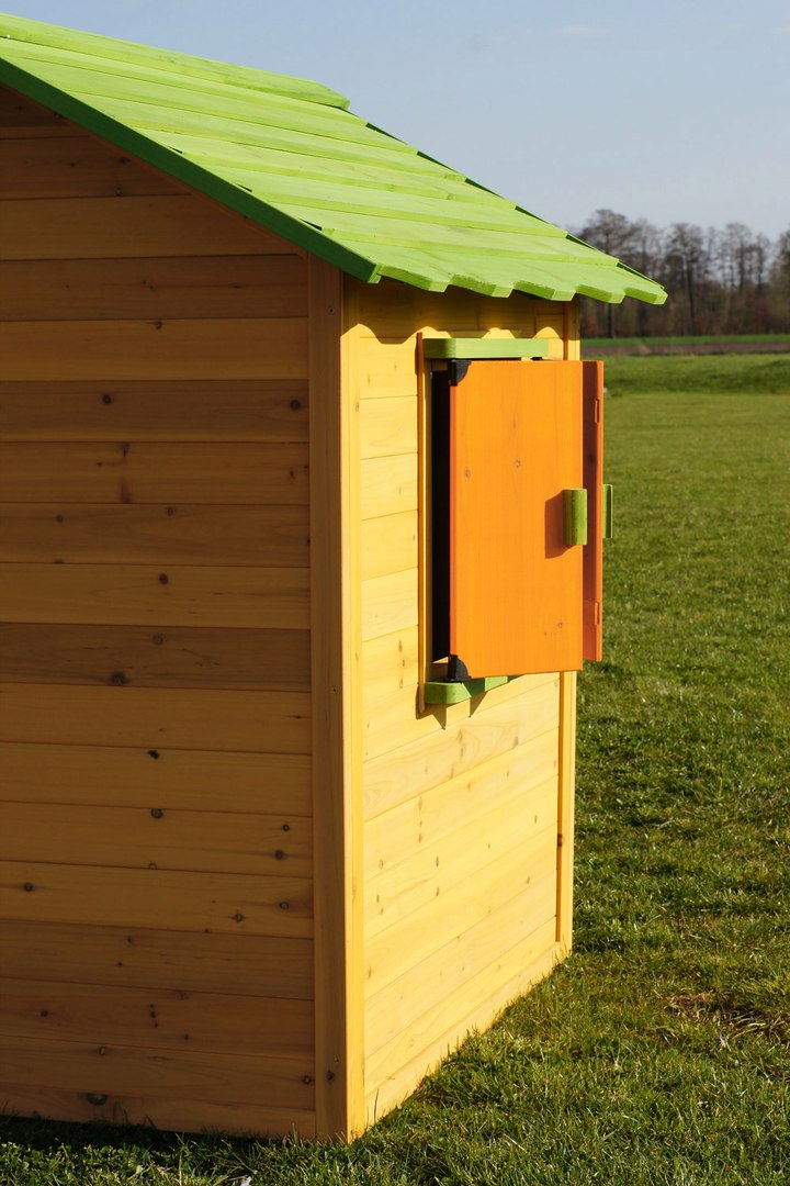 Casa de jard n casita infantil de madera caseta de for Casa jardin infantil