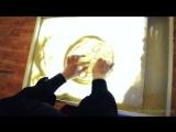 Рисунок из песка. Чудеса детского творчества. Дети рисуют. Говорит ЭКСПЕРТ -Says Expert- (1)