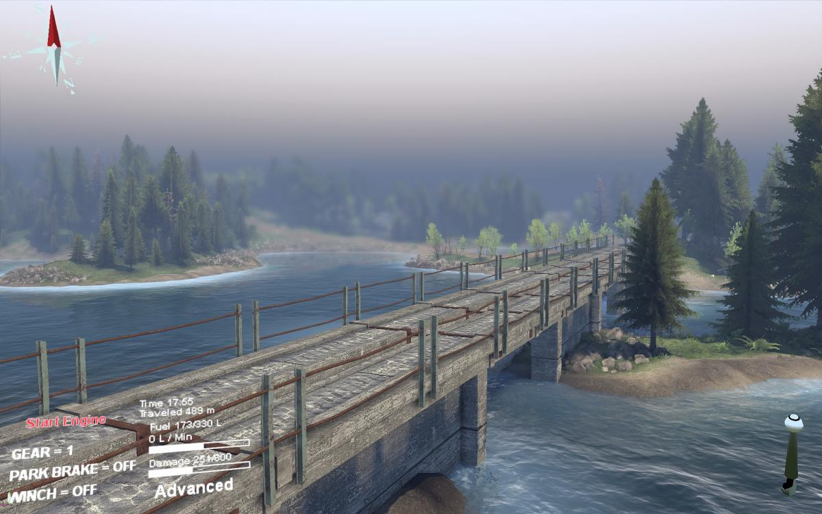 "Карта ""Яма"" для 25.12.15 для Spintires - Скриншот 1"
