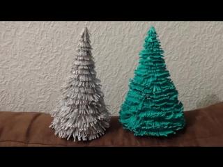 Делаем елку своими руками из фоамирана.